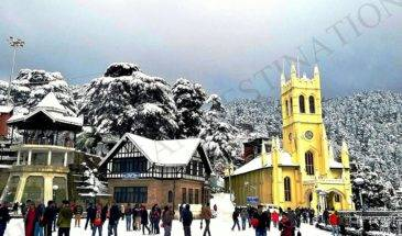 02 Nights & 03 Days Weekend At Shimla Trip From Chandigarh to Chandigarh